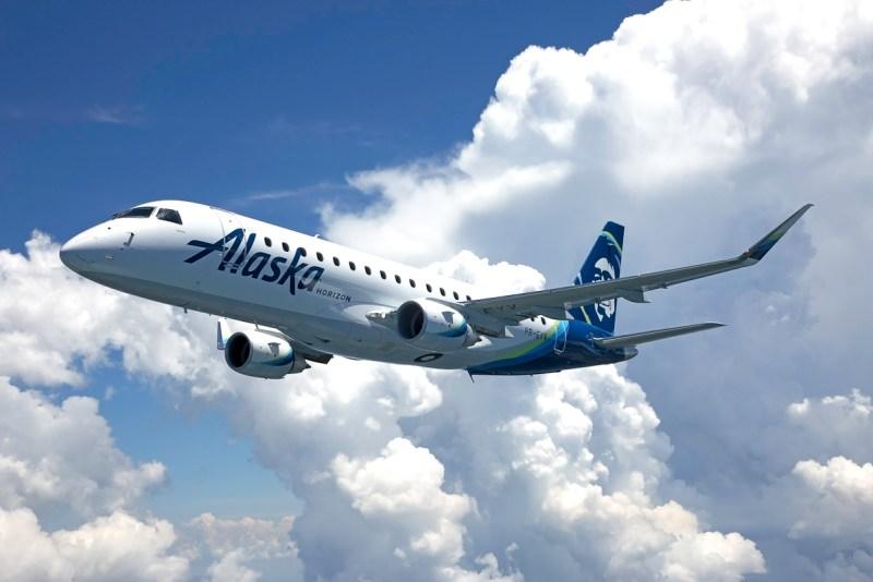 Avião Embraer E175 Alaska Horizon Air