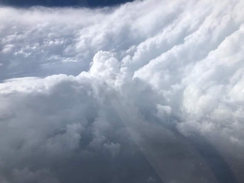NOAA Dorian Hurricane Eye Olho Furacão