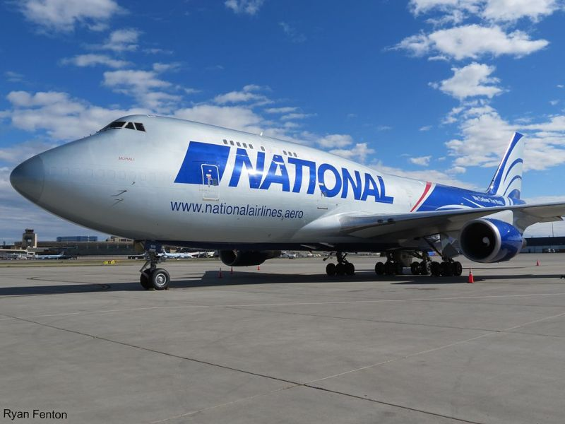Boeing 747 da National Airlines