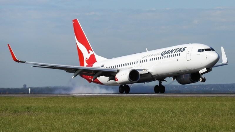Boeing 737 Qantas