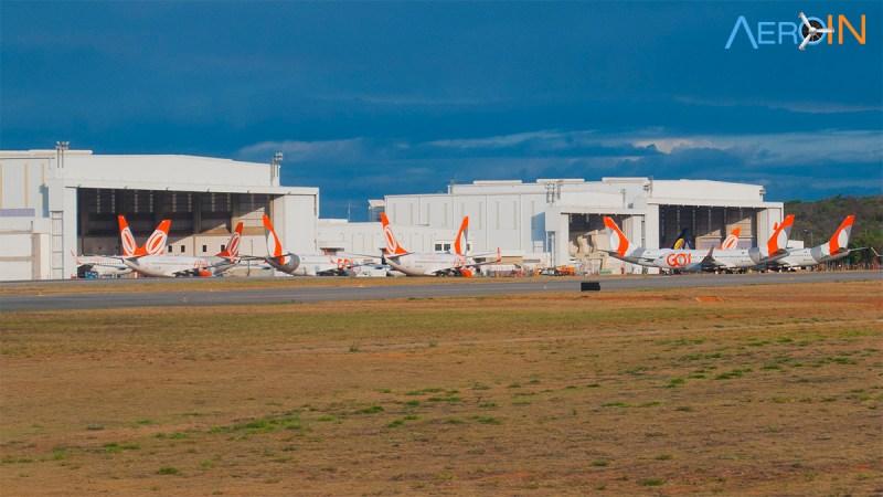 Hangar GOL 737