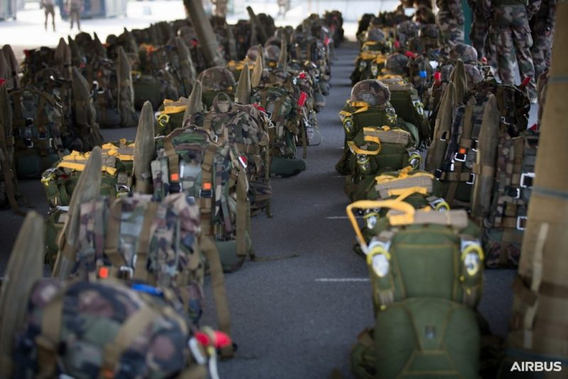 A400M Paratroopers Bags