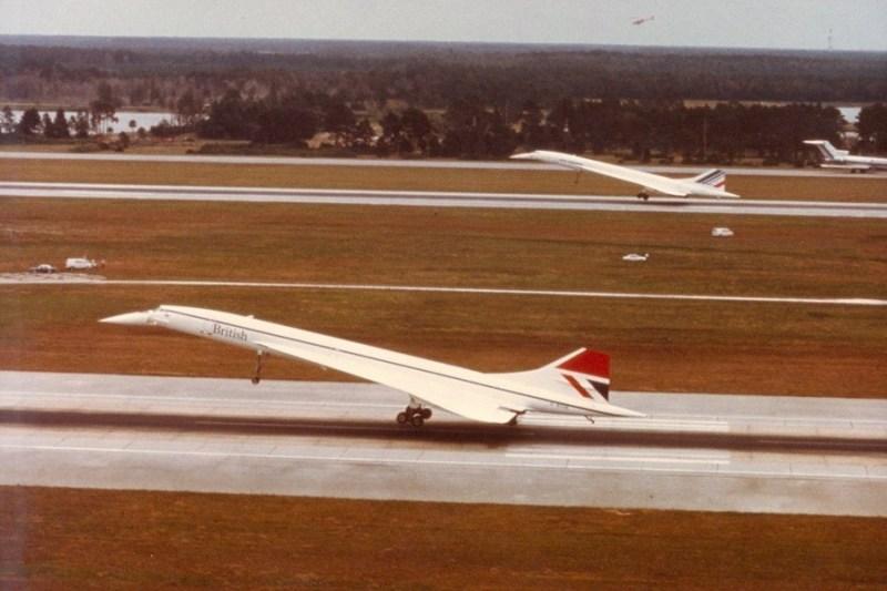 Concorde Pouso Simultâneo Orlando Air France British