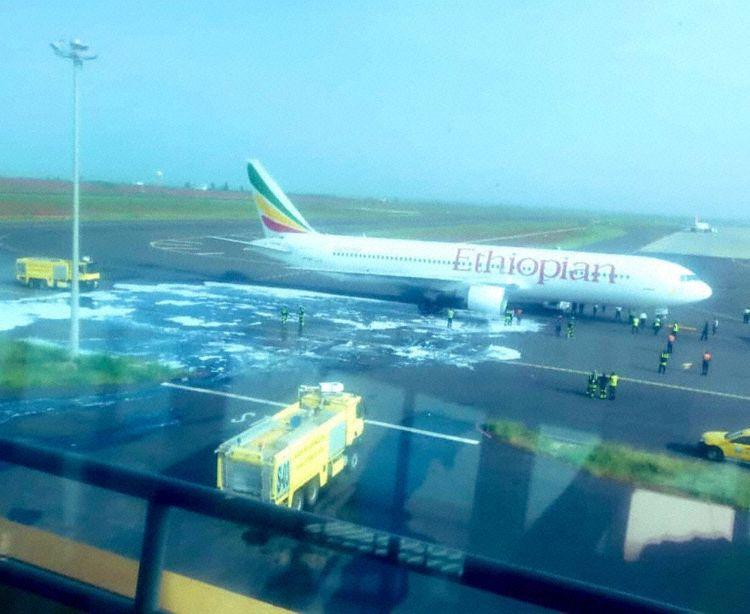 Falha Motor 767 Ethiopian Dakar