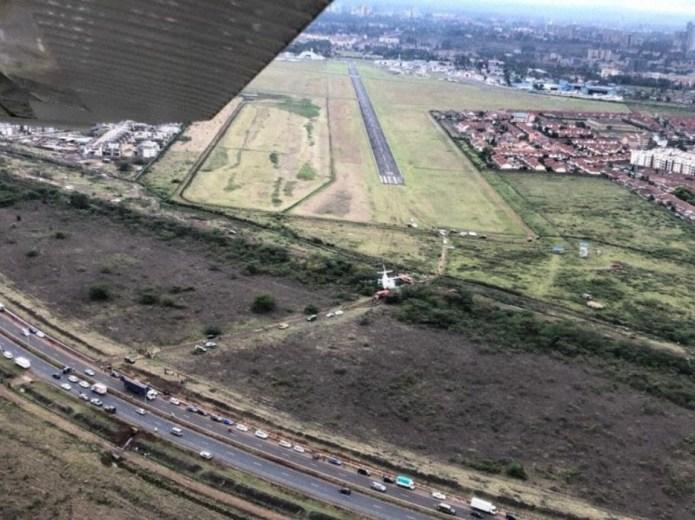 Fokker 50 Silverstone Air Services Acidente Vista Aérea