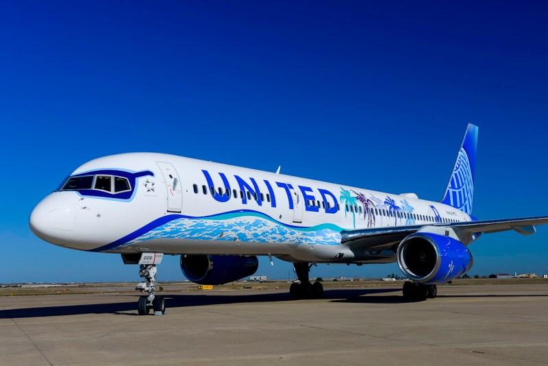 Imagem United pintura especial California 757