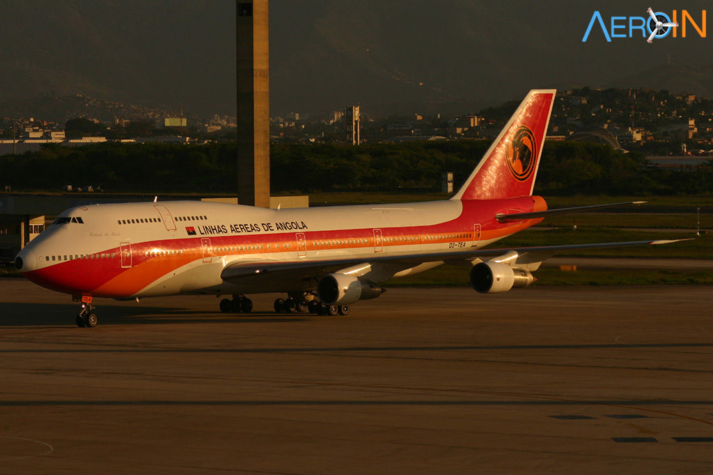 Boeing 747 TAAG