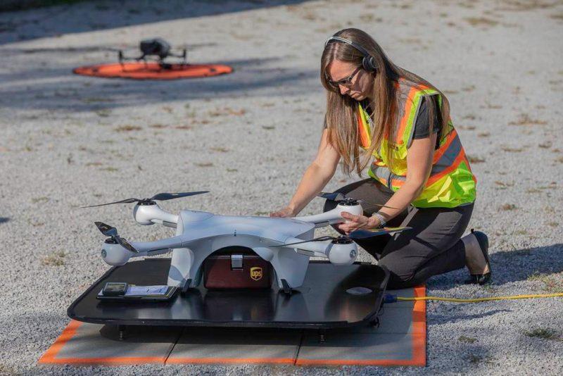 UPS entregas drone
