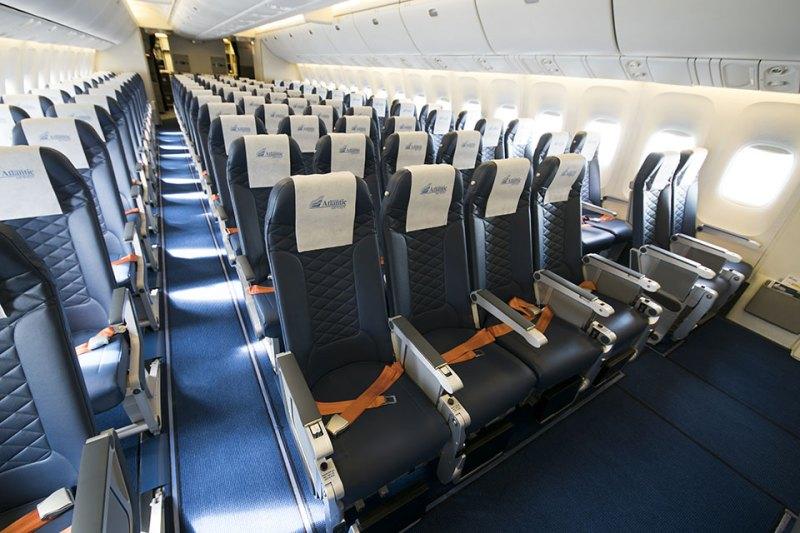 Interior Boeing 767 EuroAtlantic