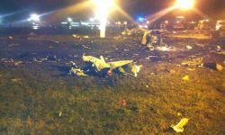 Acidente Tatarstan 737-500 Kazan 2013 Destroços