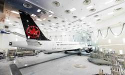 Air Canada Primeiro A220 Pintado