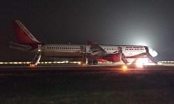 Emergência Fogo Motor Air India A321