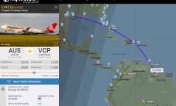 Flight Radar 24 Voo Cargolux Formula 1 2019
