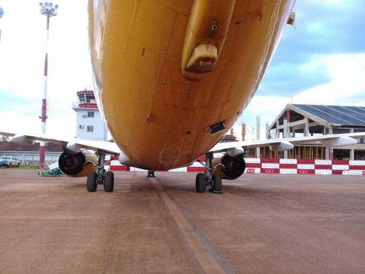 flybondi 737-800 LV-HQY Tail Strike