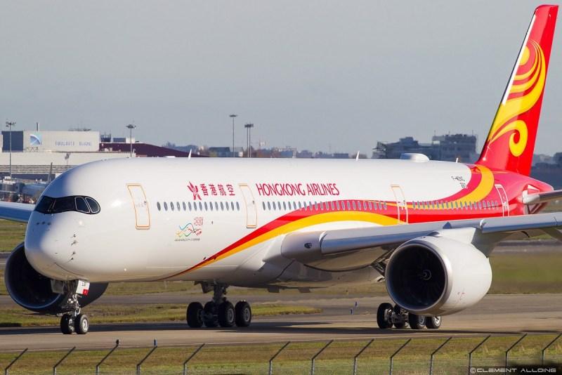 Avião Airbus A350 Hong Kong Airlines HNA