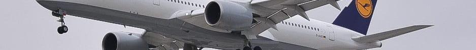 Lufthansa A350-900 Primeiro Pouso Brasil