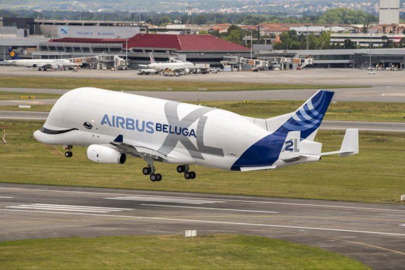 Avião Airbus BelugaXL número 2