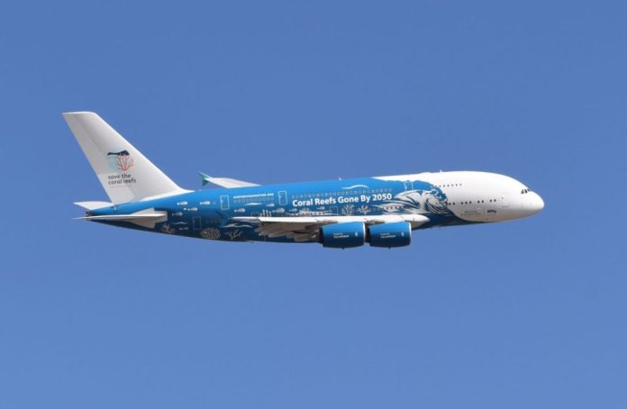 Hi Fly A380 Not Too Late For Coral Reefs