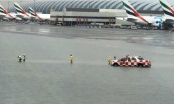 Inundação Aeroporto Dubai International