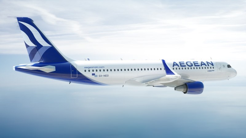 Airbus A320neo Aegean