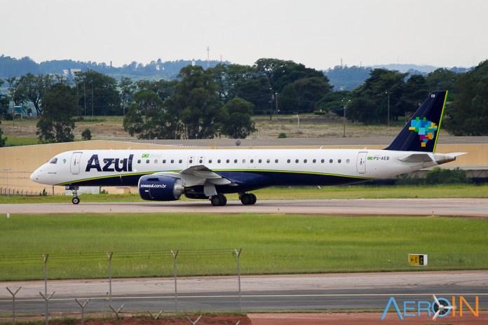 Avião Embraer E195 E2 Azul