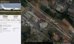 FlightRadar24 Antonov AN-124 Viracopos