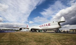 Qatar Cargo Avião Boeing 747-8F