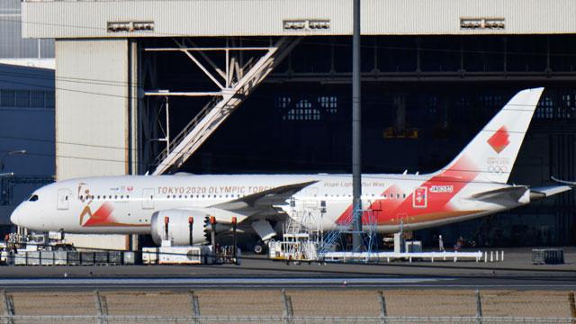 Boeing 787 Olimpíadas Japão