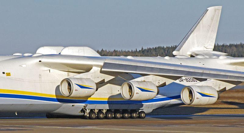 Avião AN-225 Motores