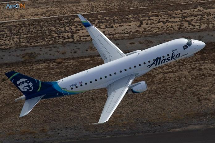 Avião Embraer E175 Alaska Airlines