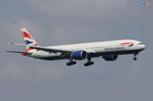 Boeing 777 British Cuba