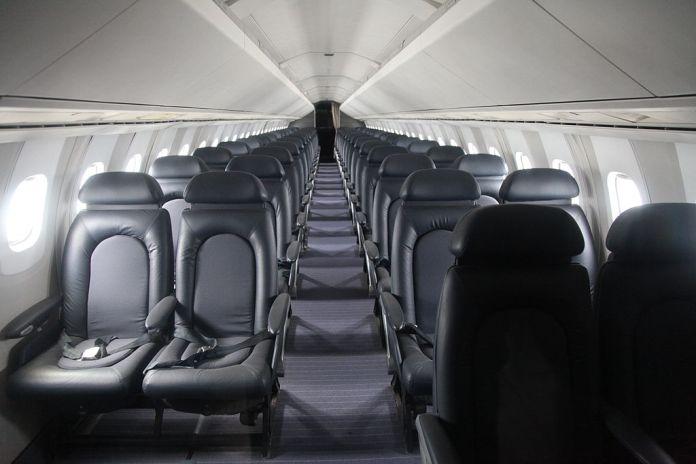 Concorde Interior Cabine Passageiros