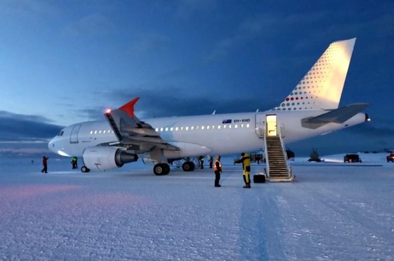Avião Airbus A319 SkyTraders Missão Resgate Antártica