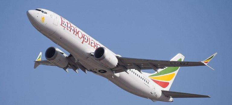 Ethiopian Airlines Avião Boeing 737 MAX