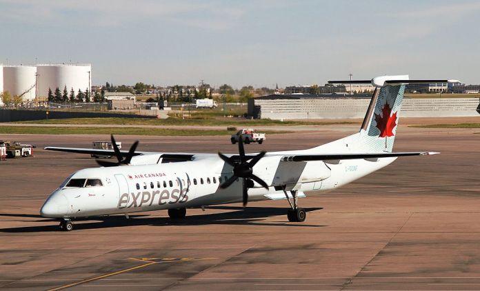 Avião DHC Dash 8-400 Jazz Air Canada Express