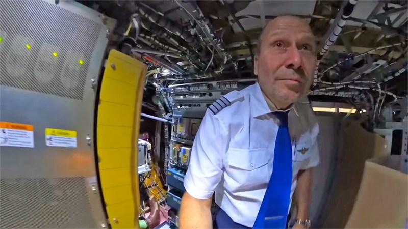 Airbus A350 piloto