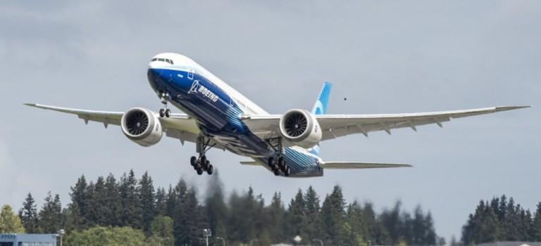 Segundo Avião Boeing 777X