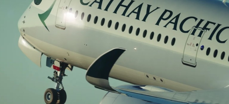 Avião Airbus A350 Cathay Pacific