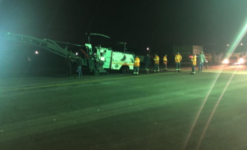 Obras Pista Aeroporto Joinville Infraero