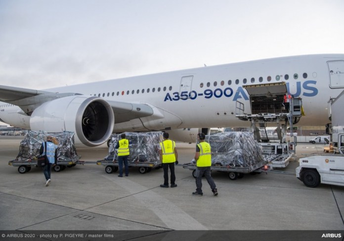Airbus Missão Ajuda Beirute Líbano A350-900 XWB