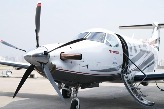 Avião Pilatus PC-12 Icon Aviation