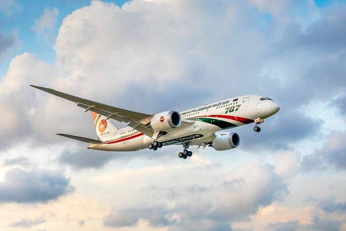 Avião Boeing 787 Biman Bangladesh Airlines