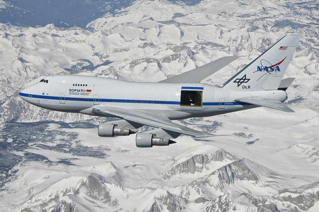 Avião Boeing 747SP NASA SOFIA