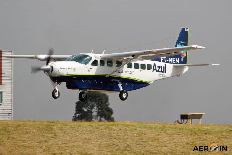 Azul tem voo que decola e pousa no mesmo município Fonte: Aero in
