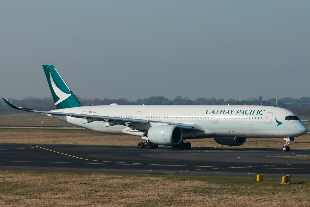 Cathay Pacific Airbus A-350-900 near Darwin on May 24th 2019. engine shut down in flight | AeroInside