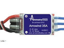 Arrowind 35A ESC (Switch BEC)