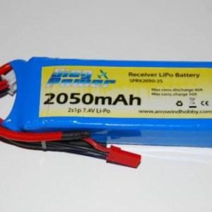 Bateria RX 2150mah LiFe (Bateria para receptor)