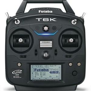 Rádio FUTABA 6-ch Digital Proportional R/C System