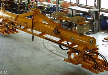 Vacuum lifter of Aerolift to handle piles of different lengths