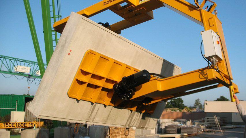 180 graden kantelaar van Aerolift voor het kantelen van betonelementen